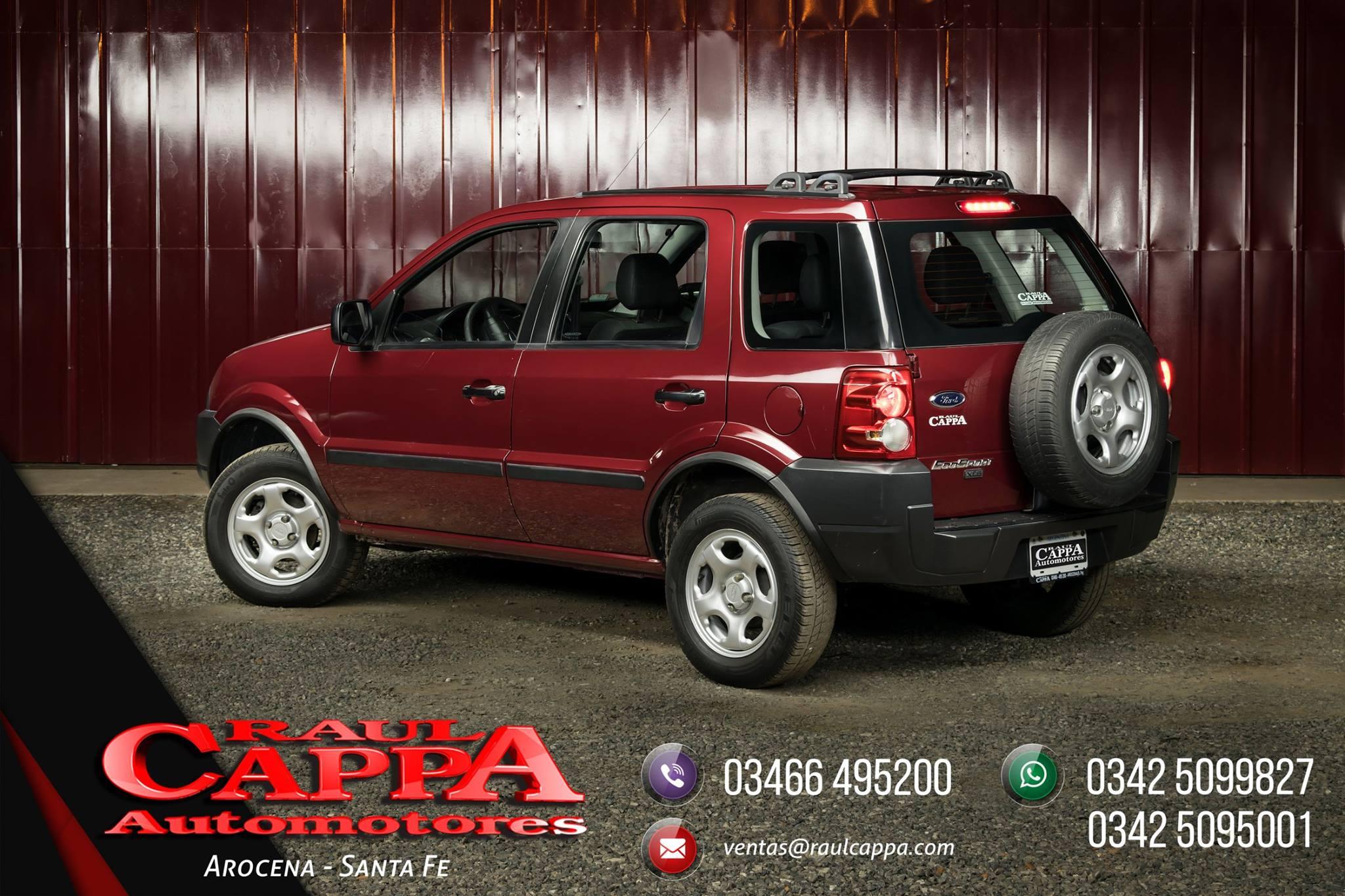 Usados Gt Ford Ecosport Xls Raul Cappa Automotores